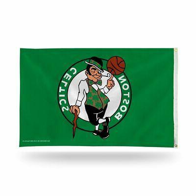 nba boston banner flag