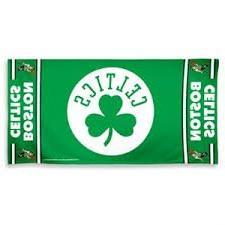 """NBA Boston Celtics A1868715 Fiber Beach Towel, 9 lb/30"""" x 60"""