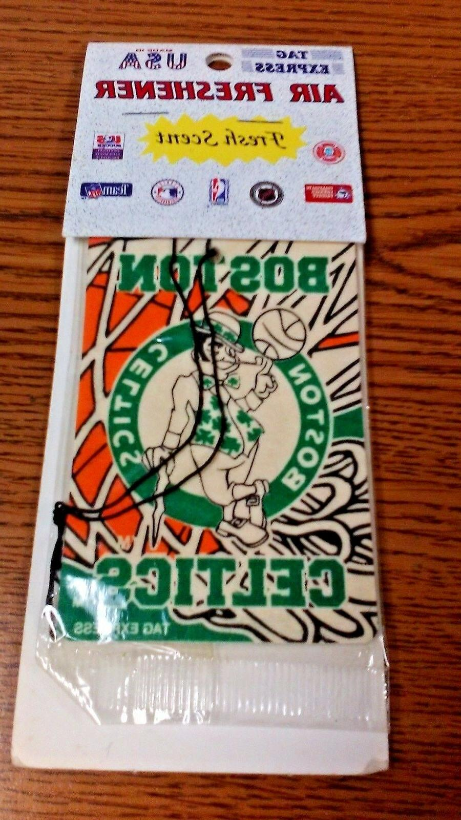 nba boston celtics car air freshener fresh