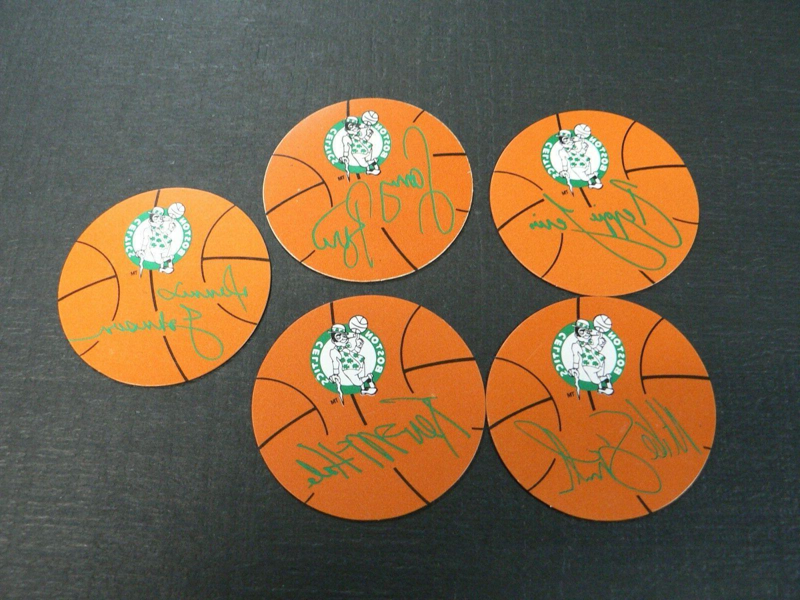 NBA BOSTON FRIDGE MAGNETS BIRD, JOHNSON, MCHALE LEWIS