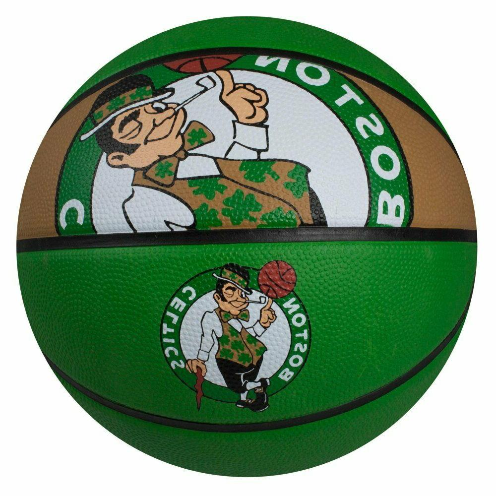 nba boston celtics courtside rubber basketball 29