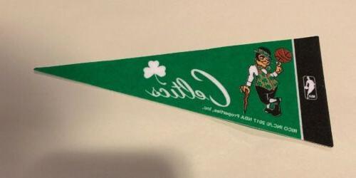 nba boston celtics mini pennant 4 x9