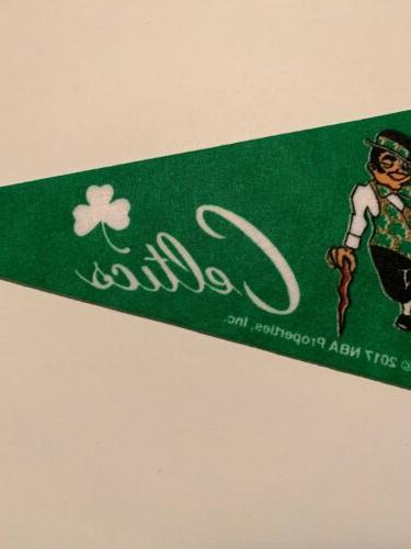 NBA Boston Pennant Flag NEW Basketball Banner