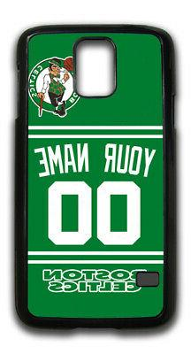 NBA Boston Celtics Personalized Name/Number Samsung Phone Ca