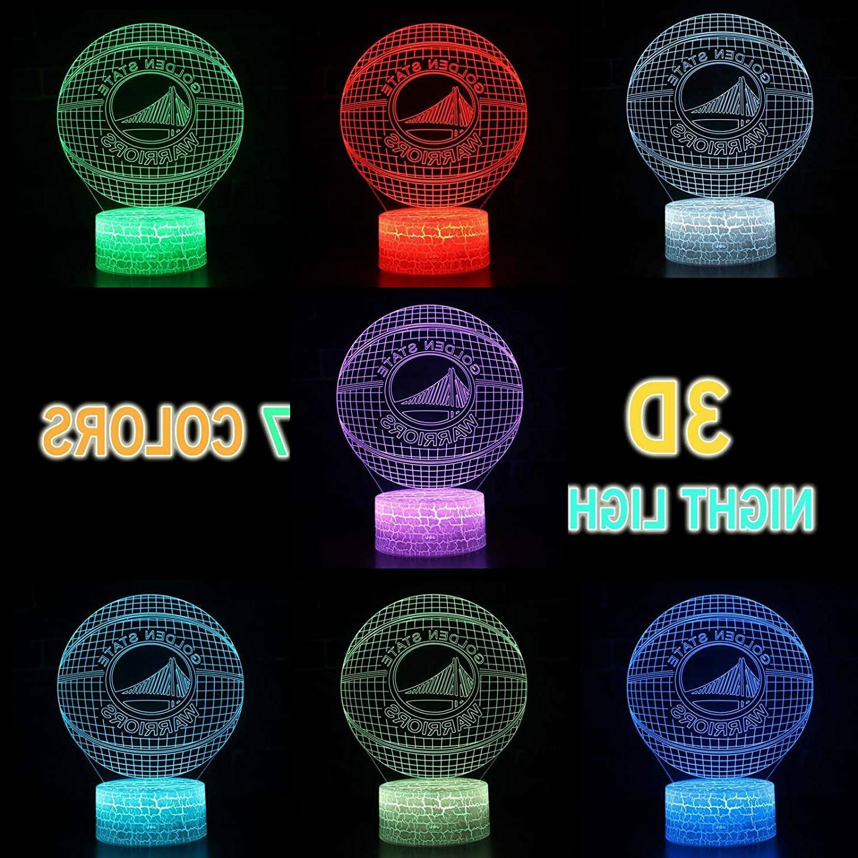 NBA Golden Warriors 3D Optical Illusion USB