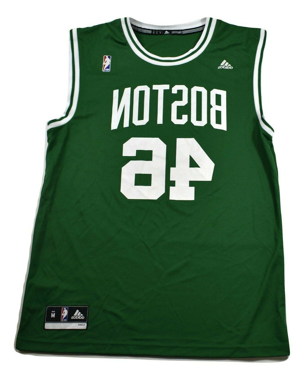 nba mens boston celtics 46 basketball jersey