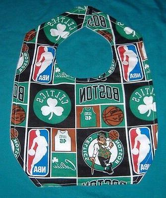 new baby child bib boston celtics basketball
