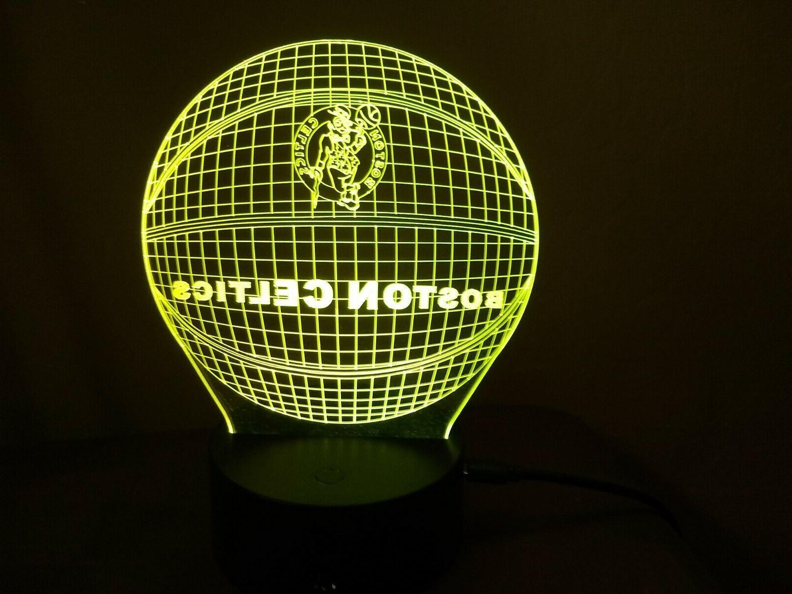 New Boston Multi Color 3D Lamp / Light /