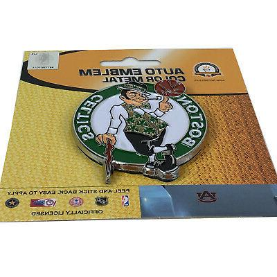 Boston Celtics Color Auto Emblem - Die Cut