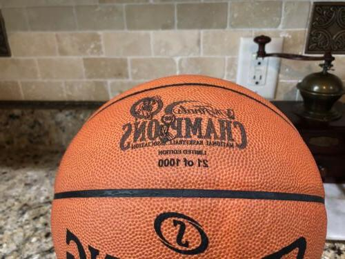 Official Spalding 2008 Ball Leather