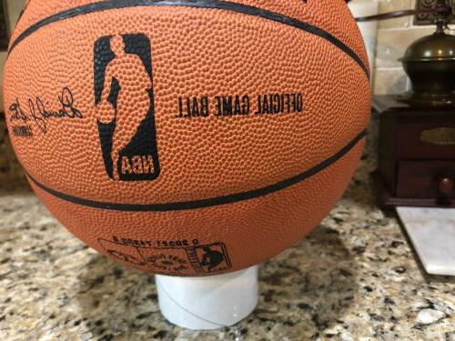 Official Spalding 2008 NBA Finals Ball Leather