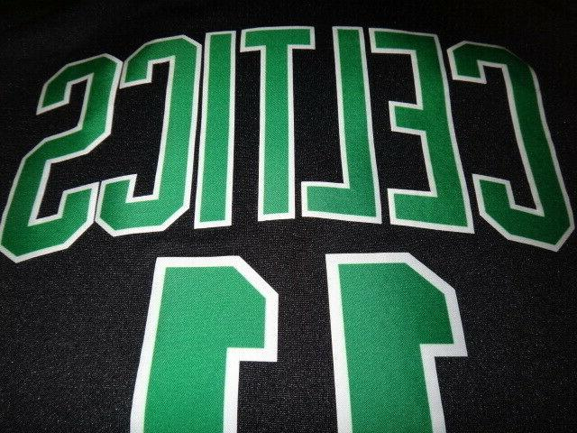 Youth Boston Celtics Statement Black Swingman