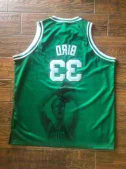 Larry Bird #33 Boston Celtics Swingman Basketball Jersey Men