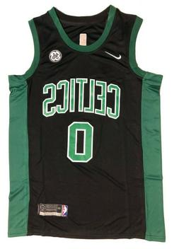 Men's Boston Celtics Jayson Tatum Nike Black Swingman Jersey