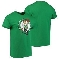 Men's Majestic Kelly Green Boston Celtics Victory Century T-