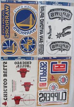 "NBA 11"" x 17"" Ultra Decals Set By WINCRAFT -Select- Team Bel"