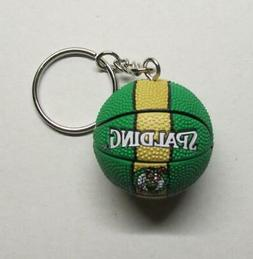 NBA Basketball Boston CELTICS Ball KEY CHAIN Ring Keychain N