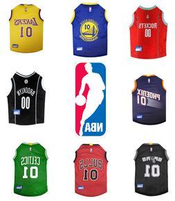 NBA basketball Dog Jersey Pet Apparel Free Shipping  XS-L  M