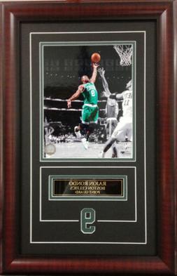NBA Basketball Rajon Rondo Boston Celtics Deluxe Framed Pict