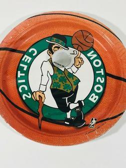 NBA Boston Celtics Basketball Sports Party Paper Plates New