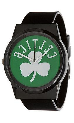 Flud NBA Boston Celtics Black Green Pantone Analog Watch New