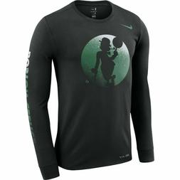Nike NBA Boston Celtics Dri-FIT Long Sleeve Logo Tee T-shirt