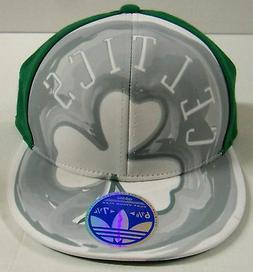 NBA Boston Celtics Adidas Flat Visor Flex Cap Hat