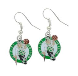NBA Boston Celtics Logo Dangler Earrings
