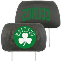 FANMATS NBA Boston Celtics Polyester Head Rest Cover