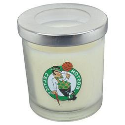 NBA Boston Celtics Silver Top Basketball Filled Scented Cand