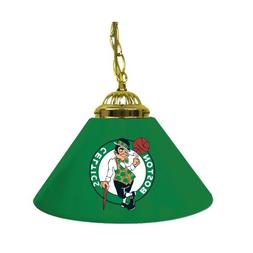 NBA Boston Celtics Single Shade Gameroom Lamp, 14""