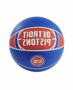 Spalding NBA Detroit Pistons NBA Courtside Team Outdoor Rubb