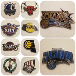 NBA LICENSED BELT BUCKLES - OFFICIAL NBA PRODUCT - CHOOSE YO