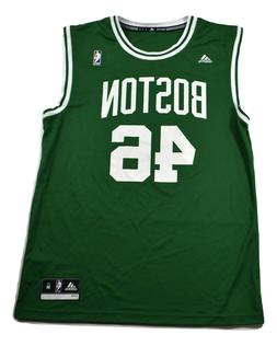 adidas NBA Mens Boston Celtics #46 Basketball Jersey Look M,