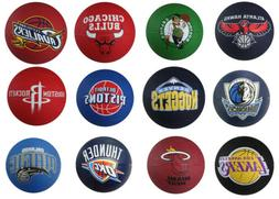Spalding NBA Mini Primary Team Outdoor Rubber Basketball, 28