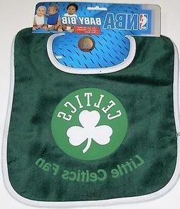 NBA NWT INFANT BABY BIB- GREEN - BOSTON CELTICS