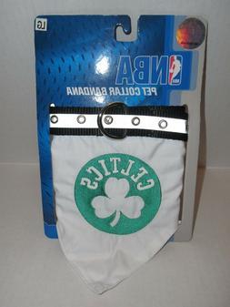 NBA Official Boston Celtics Bandana Collar for Pet Dog LARGE