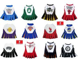 NBA Pet Cheerleader Dress XSM - Med Size Multiple Teams U PI
