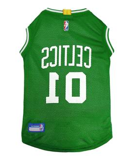 NBA Pet Fan Gear BOSTON CELTICS Dog Jersey Dog Shirt Tank fo