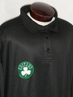NEW! Majestic Boston Celtics Basketball Polo Shirt Mens TALL