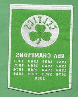 new boston celtics championship banner 5 x