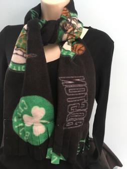 New Boston Celtics Fringed Scarf Handmade For Men Or Women S