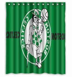 new boston celtics shower curtain 60 x 72 inch one side