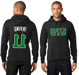 New Kyrie Irving 11 Boston Celtics Hoodie Hooded Sweatshirt