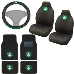 New NBA Boston Celtics Car Truck Seat Covers & Front Back Ca