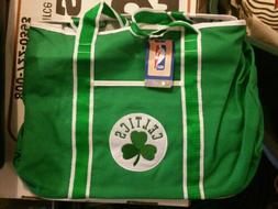 New! NBA Boston Celtics duffle/gym bag in green and black wi