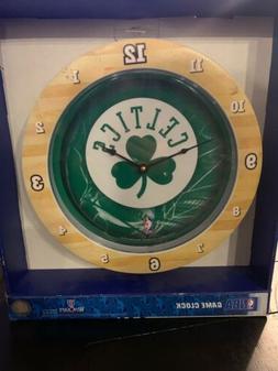 New WinCraft NBA Boston Celtics Larry Bird Chrome Wall Clock