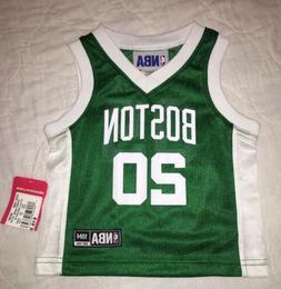 NEW Youth Toddler Boston Celtics Basketball Jersey 18M 18 Mo
