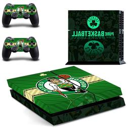 PS4 ORIGINAL - Boston Celtics - Vinyl Skin Set + 2 Controlle