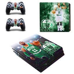 PS4 Pro Console Controllers Vinyl Skin Stickers Boston Celti